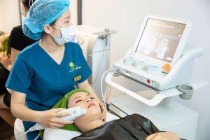 Cảm nhận của Hồng Duyên về dịch vụ Ultherapy tại Dsunflower Spa Clinic