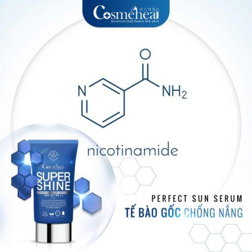Bán Supershine Perfect sun serum tế bào gốc chống nắng nội sinh